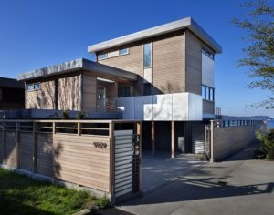 Beach House Front Exterior